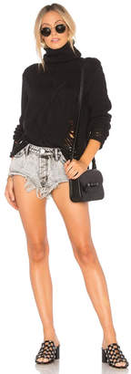One Teaspoon Rollers Denim Shorts