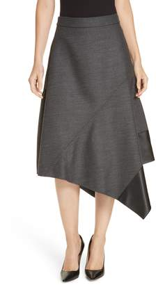 BOSS Vadelina Asymmetrical Flare Skirt