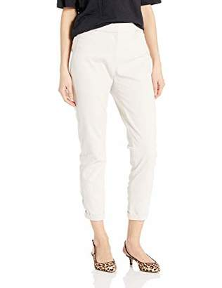 Halston Women's Tapered Ankle Zipped Pants