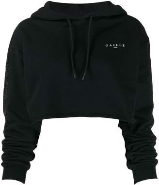 Gaelle Bonheur sequin embellished hoodie