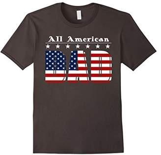 Mens All American Dad T-Shirt