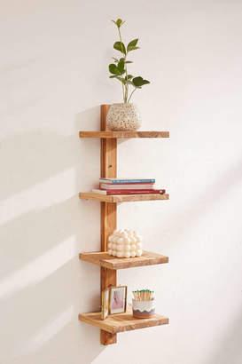 Takara Column Wood Wall Shelf