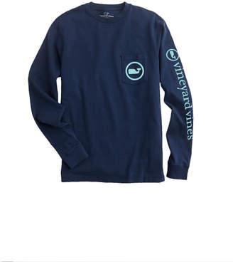 1a6c9c29 Vineyard Vines Long-Sleeve Starfish Whale Dot Pocket T-Shirt