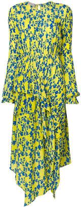 Preen Line Eden botanical print ruffle dress