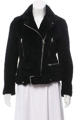 Acne Studios Shearling Moto Jacket