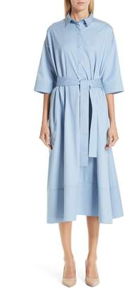 Co Cotton A-Line Shirtdress