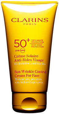 Clarins Sun Wrinkle Control Cream for Face, SPF 50+, 75ml