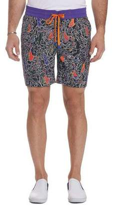 Robert Graham Men's The Great Place Board Shorts
