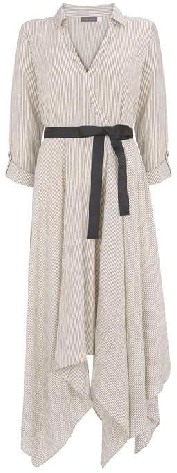 bda06d495ac Mint Velvet Striped Trapeze Dress