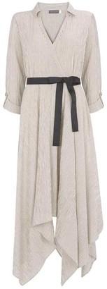 Mint Velvet Striped Trapeze Dress