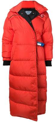 Prada oversized puffer coat