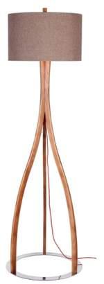 Jalexander Lighting JAlexander Parker Wood Floor Lamp