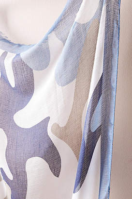 Anthropologie Camo-Printed Scarf