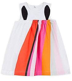 Catimini Baby's & Little Girl's Printed Stretch-Cotton Dress