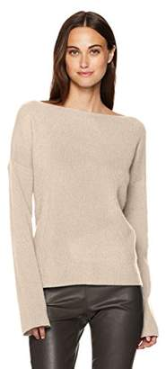 Vince Women's Boxy Boatneck Pullover