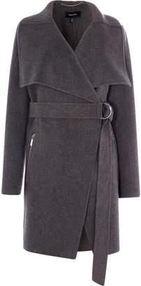 Karen Millen Belted-Waist Coat