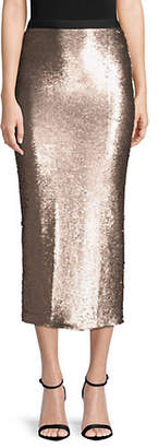Cinq à Sept Paula Sequined Midi Skirt