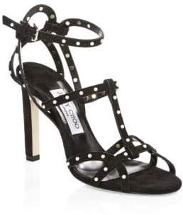 Jimmy Choo Beverly Strappy Stiletto Sandals