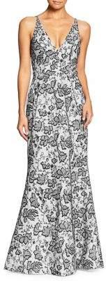 Dress the Population Lace Mermaid Dress