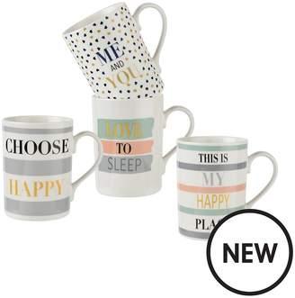 Pimpernel Set Of 4 Mugs