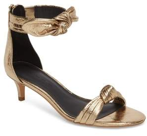 Rebecca Minkoff Kaley Knotted Kitten Heel Sandal