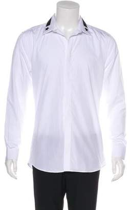 Givenchy Long-Sleeve Button-Up Shirt