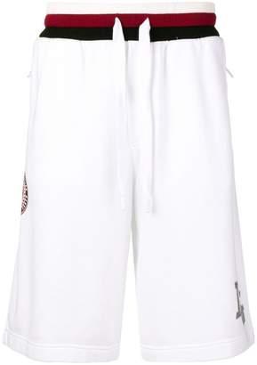 Dolce & Gabbana king patch track shorts