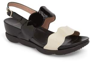 Wonders Wedge Sandal