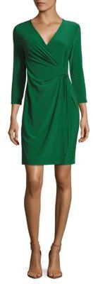 Classic Surplice Wrap Dress $99 thestylecure.com