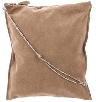 The Row Suede Crossbody Bag