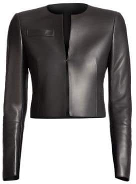 Akris Hasso Leather Jacket
