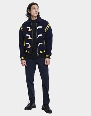 J.W.Anderson Varsity Wool Jacket