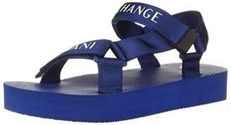 Armani Exchange A|X Men's Logo Strap Velcro Sandal