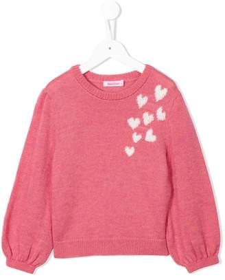 Familiar hearts sweater