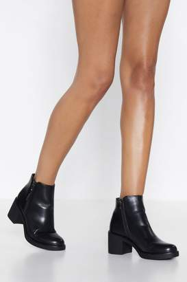 Nasty Gal It's Your Move Faux Leather Boot