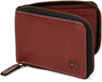 Timberland Brown Zip-Around Wallet