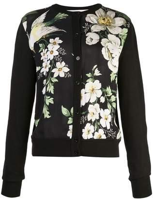 Carolina Herrera floral print cardigan