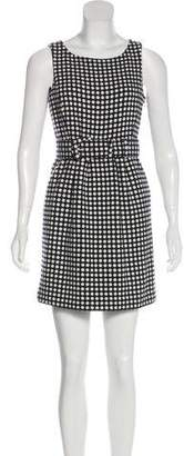 Juicy Couture Printed Wool Dress w/ Tags