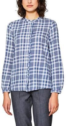 Esprit Checked Shirt with Polo Collar