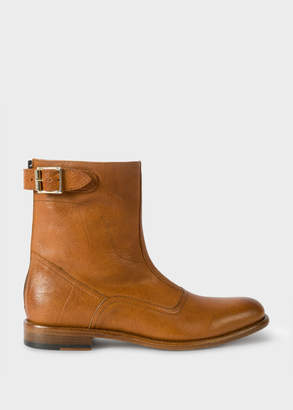 Paul Smith Women's Tan Leather 'Thunder' Boots