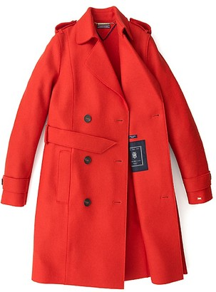 Boiled Wool Trench