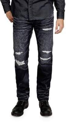 Cult of Individuality Mccoy Distress Loose Fit Jeans