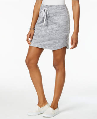 Style & Co Melange Drawstring Skort, Only at Macy's $34.50 thestylecure.com