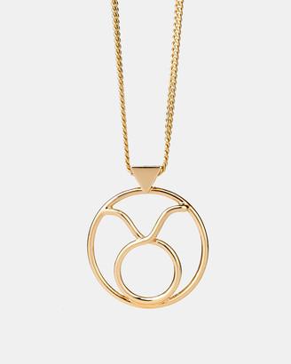 Karen Walker Taurus Zodiac Necklace