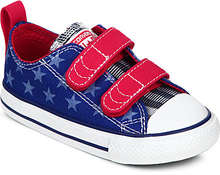 Converse Velcro strap trainers 6 months- 5 years
