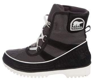 Sorel Round-Toe Lace-Up Boots