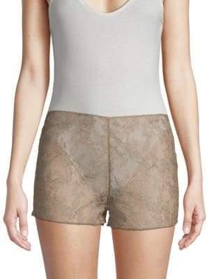 Valentino Silk Lace Shorts