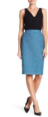 St. John Maldive Tweed Knit Skirt