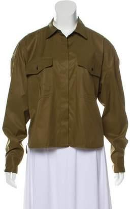 Rag & Bone Lightweight Lace-Up Jacket