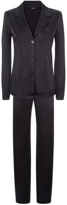La Perla Silk Reward Black Silk Pyjama Set